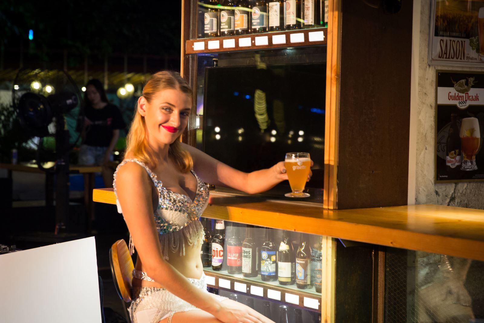 'Beer Night of Cinderella'啤酒发布派对
