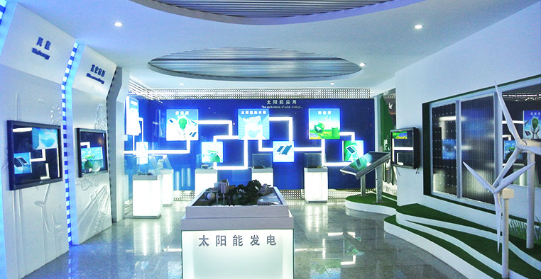 宁夏惠农区规划馆_新能源展示