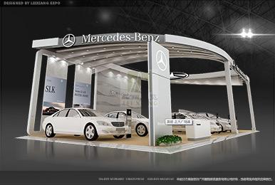 梅赛德斯-奔驰车展展台设计案例