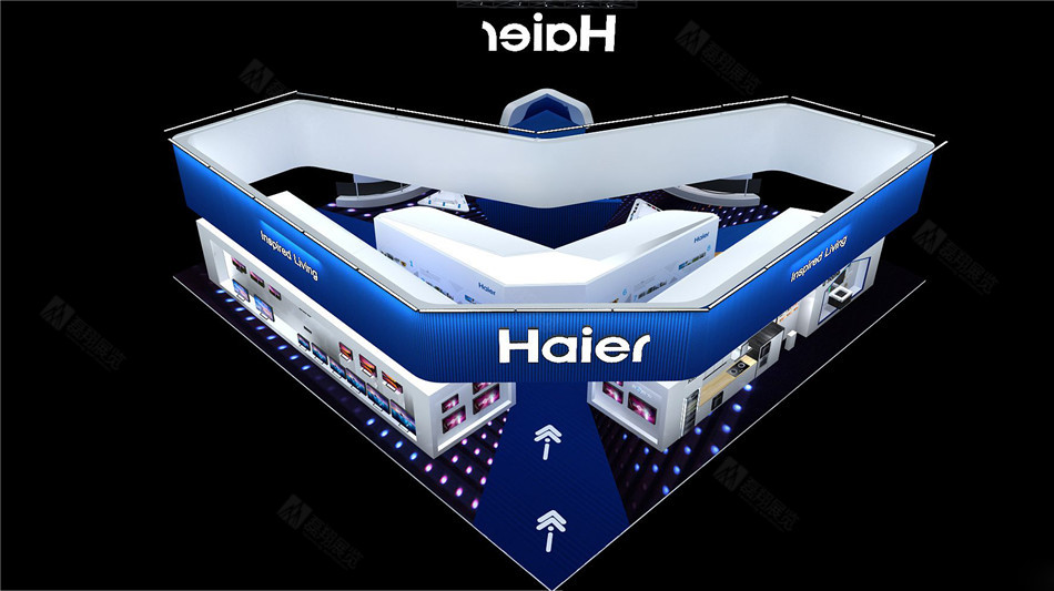 海尔电子展台搭建案例