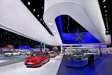 大众汽车法兰克福展台设计