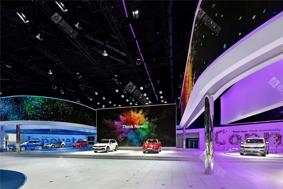 大众汽车法兰克福展台设计装修
