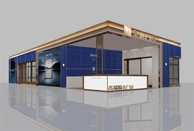 皇派门窗建材展展台